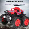 Inertial Car Toys 4wd Stunt Car 360 Rotation Friction Stunt Car Model Toys For Boy Drift Mini Inertial Off-Road Vehicle Gift Toy