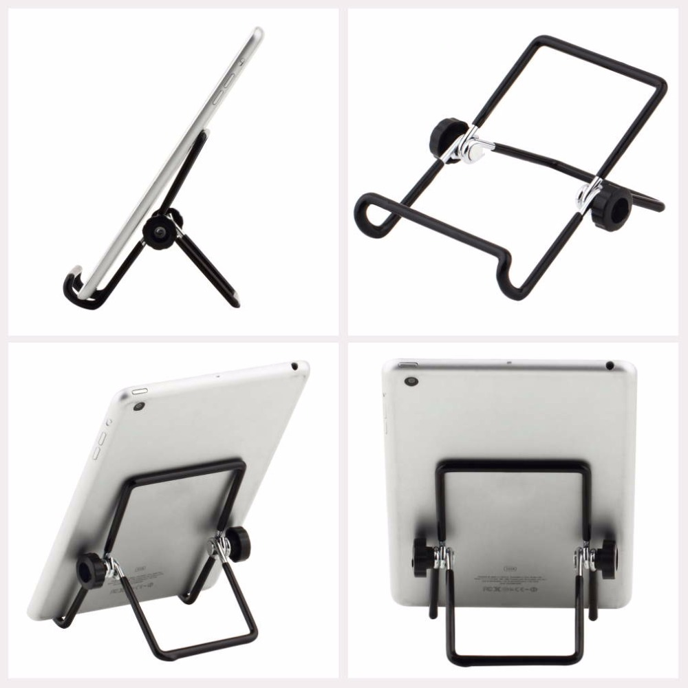 1PC Universal 180 Degree Metal Adjustable Foldable Tablet PC Stand Holder For 7 Inch Tablet PC
