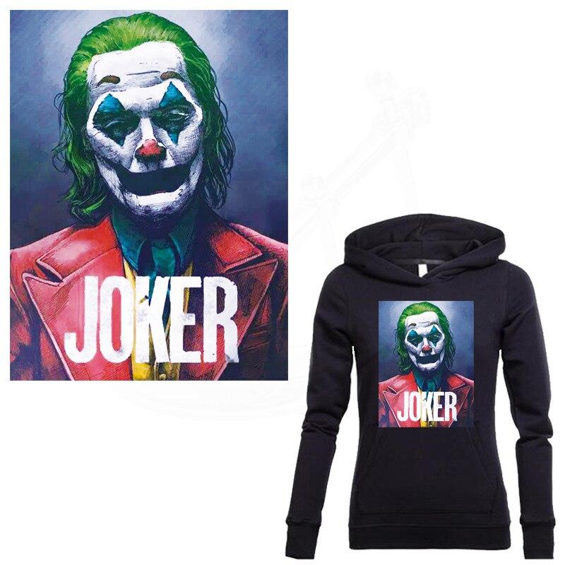 Горячая Джокер diy патчи для одежды футболки одежда патчи термостойкие наклейки