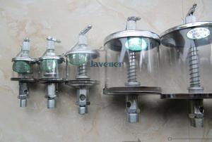 M8-M16 Capacity 16/25/50/100/200/400/600ml Iron Glass Sight Gravity Drip Feed Oiler Lubricator For Hit Miss Engine Motor