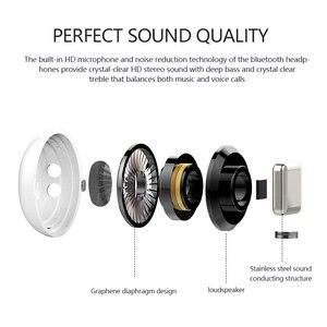 Image 2 - Headphone Wireless Bluetooth 5.0 Earphone Mini Earbuds With Mic Charging Box Sport Headset For iphone xiaomi Smart Phone