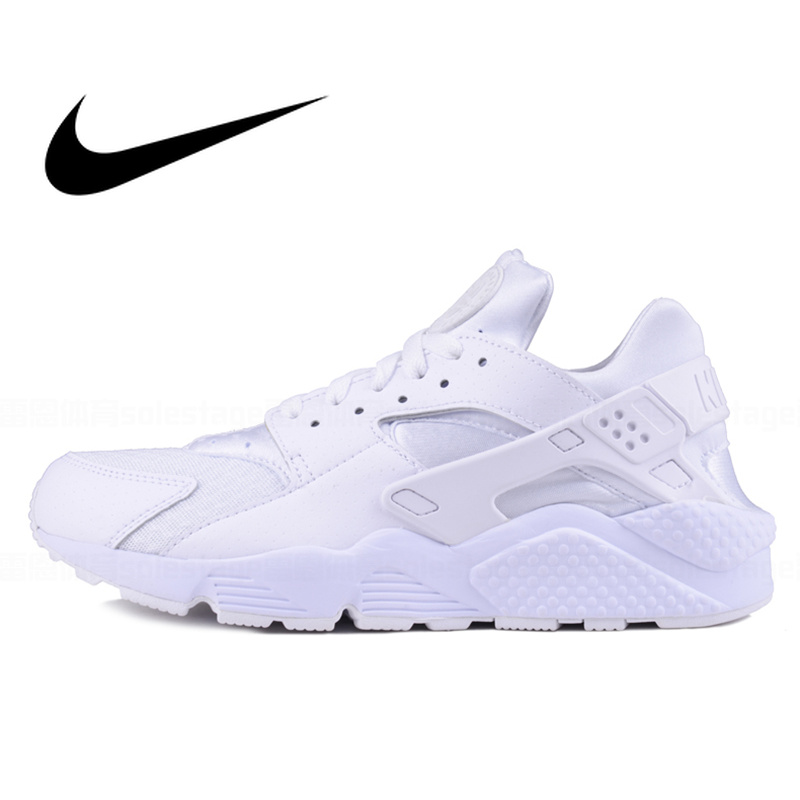 NIKE AIR HUARACHE 2019 Original Authentic Cushioning Women's Running Shoes Low-top Sports Outdoor Designer Sneakers 318429-111