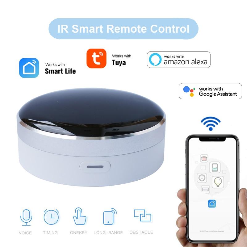 Tuya умный дом Умный номер Wifi Универсальный ИК пульт дистанционного управления поддерживает Siri,Alexa, Google Home