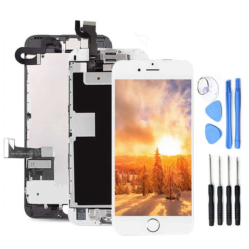 AAA++LCD Display For iPhone 6 6S 7 8 Plus With Perfect 3D Touch Screen Digitizer Assembly For iPhone screen  No Dead Pixel