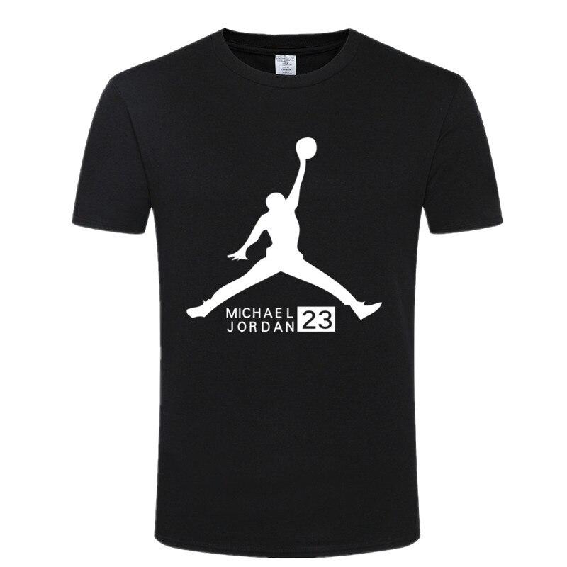 New   t  -  shirt   michael Jordan mens round-neck collar fashion image jordan Nba   t  -  shirt   tops mens   shirts