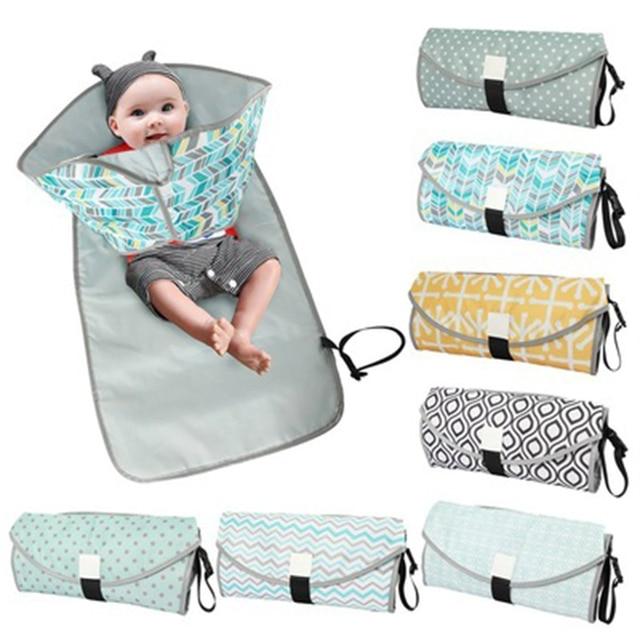 Пеленальный Коврик для ребенка, портативный складной водонепроницаемый дорожный матрац для детской коляски, детские коврики, пеленальный коврик для подгузников