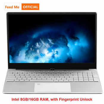 Metal Shell Windows 10 Laptop 8GB 16GB RAM Fingerprint Unlock Intel Celeron 3867U Netbook SSD Dual Band WiFi Backlit Keyboard - Category 🛒 All Category