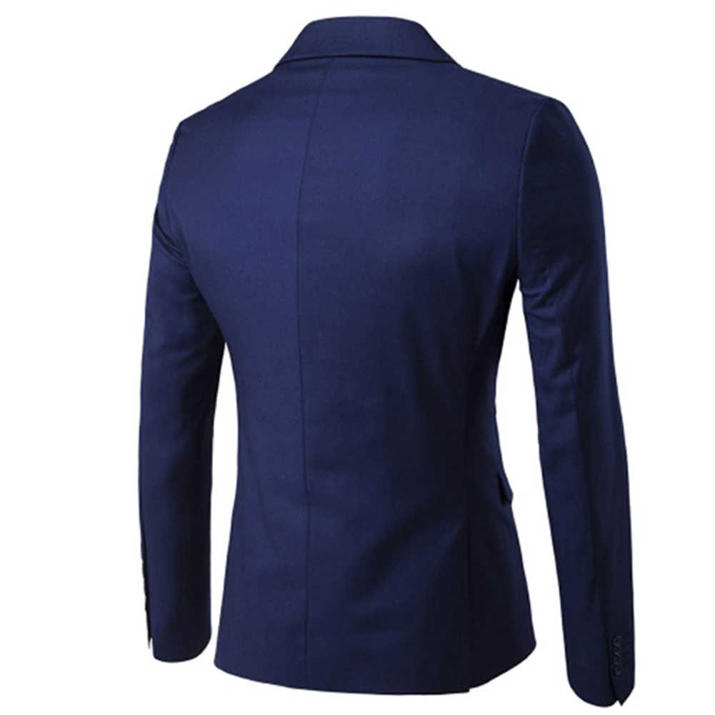 3 ピース/セット高級プラスサイズ男性フォーマルビジネスベストジャケットタキシード結婚式のスーツ