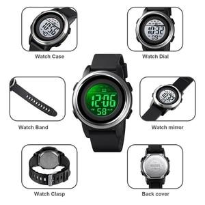 Image 5 - SKMEI Men Digital Watch Waterproof LED Sport Military Mens Watches Top Luxury Brand Fashion Wristwatch Male relogio masculino