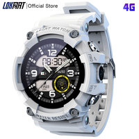 LOKMAT שמיים 4G חכם שעון גברים ה-SIM כרטיס מצלמה טלפון Smartwatch HD וידאו שעון מידע תזכורת ספורט SOS הגלובלי גרסה