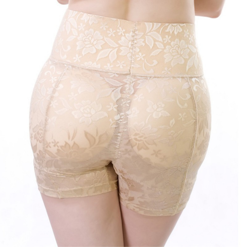 High-waisted Post-partum Tummy Pants Buttock Lift Slimming Underwear Fake Ass Body Shaping pants