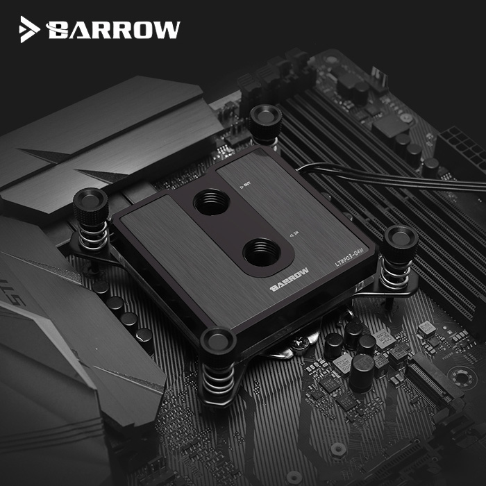 Barrow CPU Water Block fit INTEL Socket LGA 115x 1150 1151 1155 1156 5v 3pin light header processor cooler LTCP03-04N image