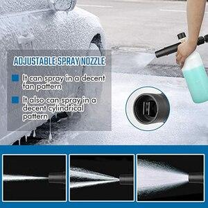 Image 5 - 圧力洗濯機adjusable泡大砲洗車機雪の泡ランス高圧石鹸フォーマー泡発生器車の泡クリーナースプレー