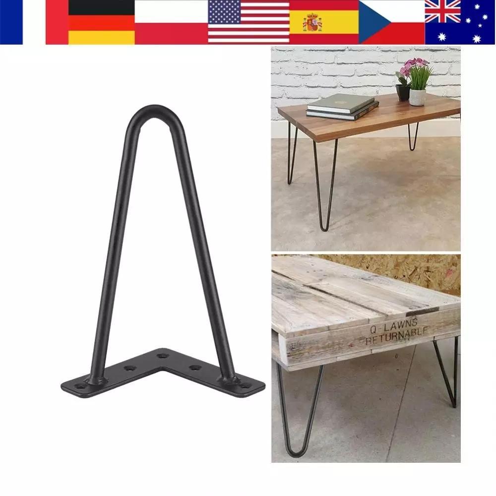 Desk Leg Furniture-Legs Iron-Table Home-Accessories Metal 4pcs for DIY Handcrafts