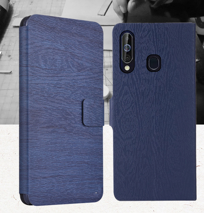 Luxury Business Cover Case For <font><b>Samsung</b></font> <font><b>Galaxy</b></font> <font><b>A60</b></font> <font><b>A6060</b></font> Case Silicone Leather Phone Bag For <font><b>SAMSUNG</b></font> A 60 <font><b>SM</b></font>-<font><b>A6060</b></font> Wallet Case image
