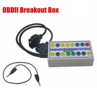 2019 Hohe Qualität Auto auto Break out Box OBDII obd Breakout Box Auto Protokoll Detector auto obd2 interface auto monitor