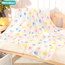 Medoboo 110*120cm Muslim Cotton Baby Bath Towel Beach Double Layer Child Wrap Towels Nursing Infant Receive Blanket