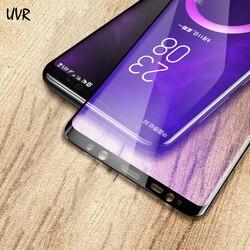 Do Samsung Galaxy S10 S9 S8 Plus S7 krawędzi uwaga 10 9 8 3D pełna pokrywa anti-niebieski szkło hartowane Screen Protector dla uwaga 9 8 szkło