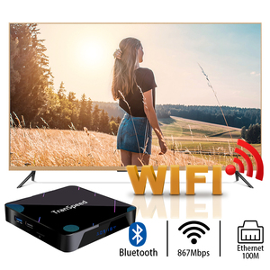 Image 5 - Transpeed X3 Plus Android 10 TV Box 4K 8K 4GB 128G Amlogic S905X3 32G 64G Bluetooth 1000M wifi 100M Ethernet Voice Assistant