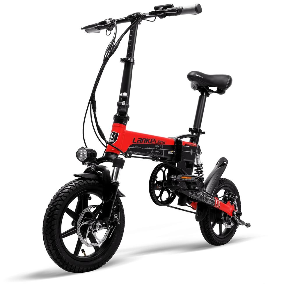 Cyrusher Mini sammenklappelig elektrisk cykel 400W 36V 8,7AH - Cykling - Foto 2
