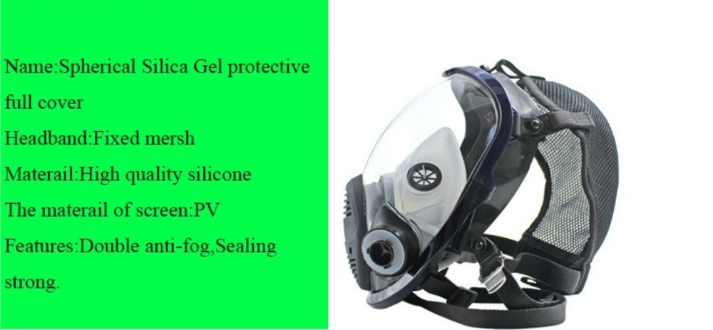 Máscara de proteccion para químicos polvo o ácidos con filtro laboratorio