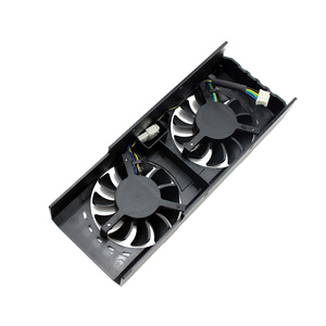 Image 3 - Brand new original HA5010H12SF Z DC12V 0.13A For MSI RX460 RX550 RX560 2GB 4GT LP OC graphics card cooling fan