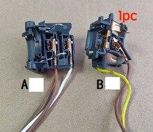 포드 Mondeo 가장자리 에스코트 초점을위한 1PC 초침 낮은 빔 H7 높은 빔 H1 헤드 라이트 전구 램프 소켓 플러그 원래