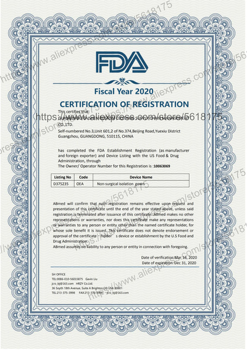 Covid 19 FDA CE Medical Protective clothing Disposable Personal disposable protective clothing