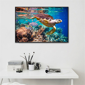 Turtle Wall Art Canvas Paintin