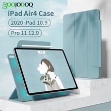 Für iPad Air 4 Fall für iPad Pro 11 2020 12 9 Fall 2021 für iPad Air 2020 Fall 10,9 12,9 magnetische Abdeckung Unterstützung Drahtlose Ladegerät