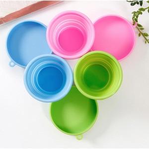 Image 5 - Складная силиконовая чашка для менструальной стерилизации, гибкая для чистки менструальных чашек, складная чаша для кемпинга и повторного использования