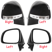 Side Mirror Assembly for Chevrolet Captiva 2008 2017 foldable Rear View Mirror LED turn Signal Lights Door Wing Rearview mirror