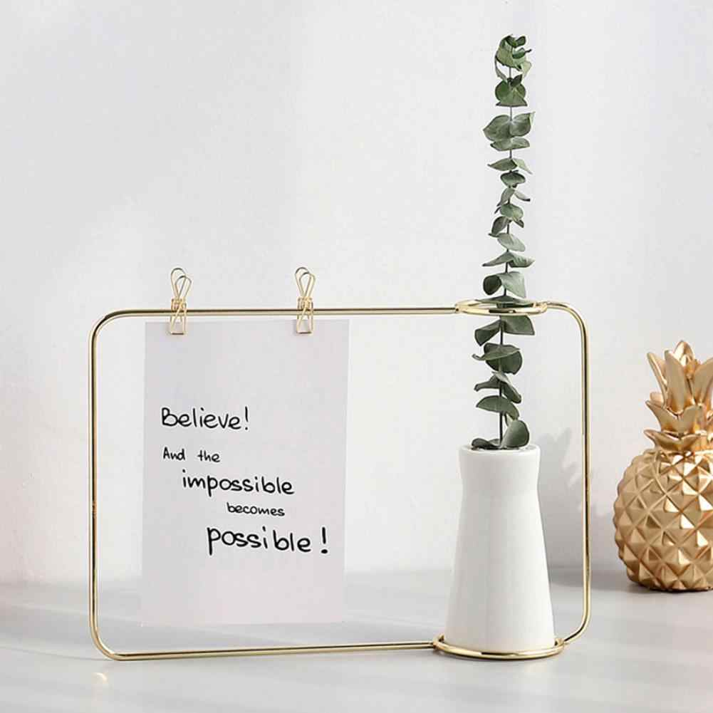 Модный прозрачный держатель для фото Рамка подставка ...