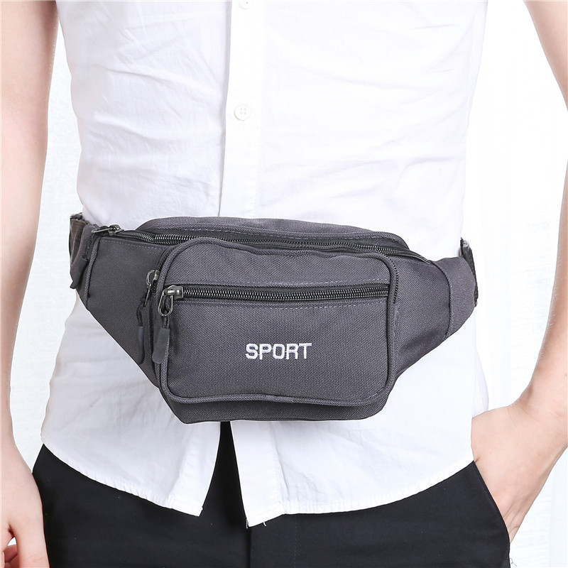 Fashion New Style Men And Women Outdoor Sport Waist Bag Running Fitness Wallet Multi-functional Mobile Phone Waist Bag