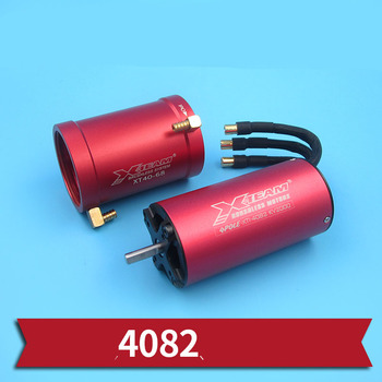 1PC 6S 4082 Brushless Motor KV2200 Water Cooled Motors 140A/3500W Motors in 5mm Shafting Jacket for RC Jet Boats Upgrade Parts