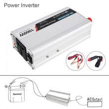 1000W Dc 12V 24V Naar Ac 220V 110V Usb Draagbare Auto Power Inverter Adapter Oplader universal Voltage Converter Surge Vermogen 2000W