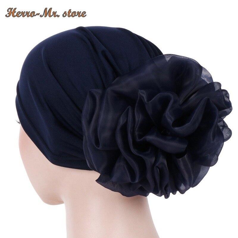 Новинка для женщин; Большой Эластичные аксессуары для волос в виде тюрбана эластичная ткань резинки для волос шапка после химиотерапии шап...