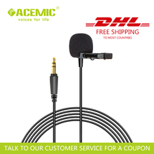 ACEMIC M11 Wired Camera/Mobile Lavalier Microphone