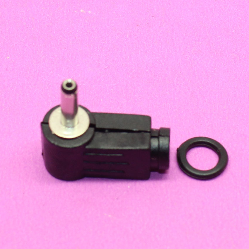 YuXi 3.5mmX1.35mm / <font><b>3.5</b></font>*<font><b>1.35mm</b></font> <font><b>DC</b></font> Power Jack <font><b>Plug</b></font> Shape Right Angle connector image