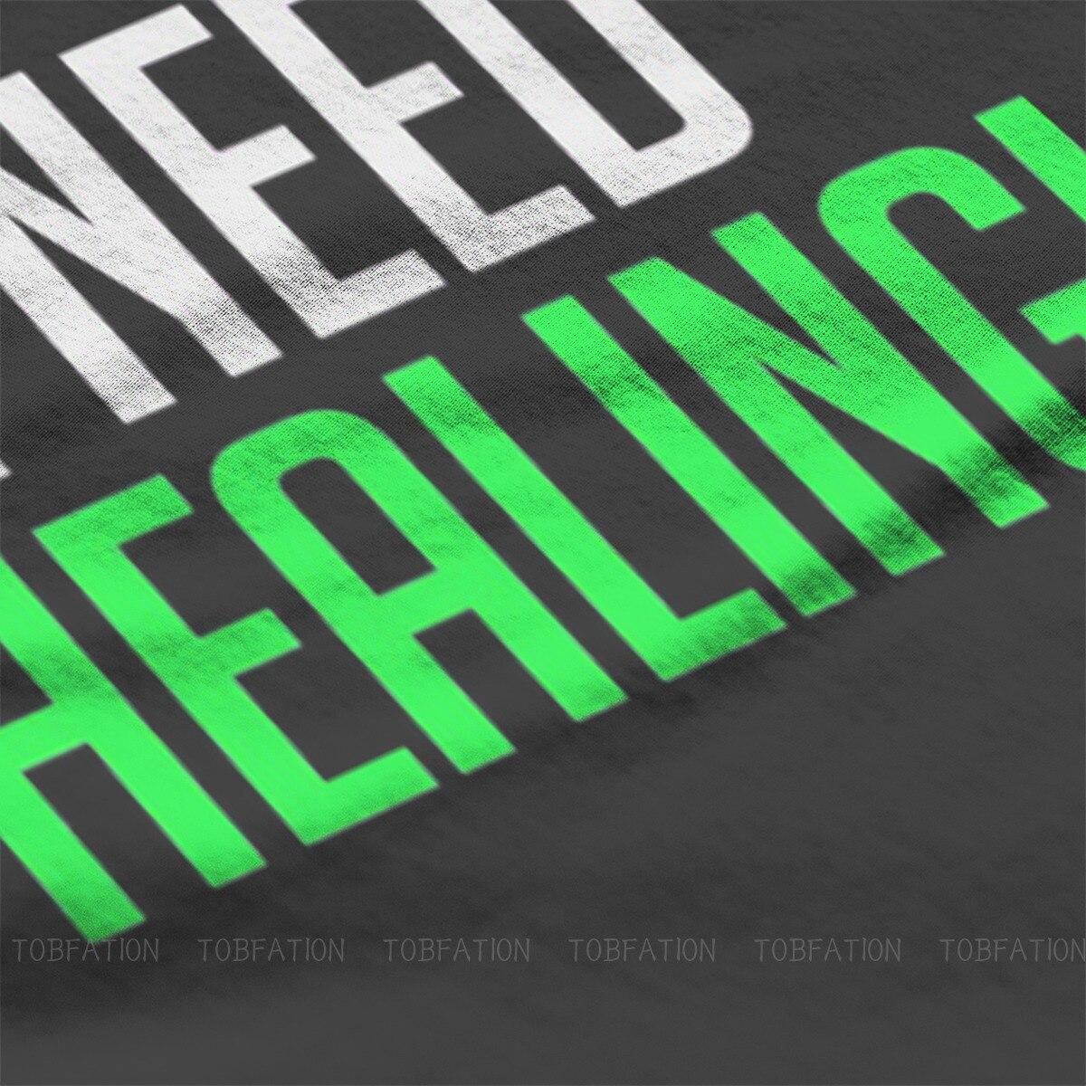 I Need Healing! Unique TShirt Overwatch Comfortable Hip Hop Gift Idea  T Shirt Short Sleeve Hot Sale 1