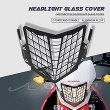 Protection de couverture de calandre de phare avant noir pour HONDA CRF250L CRF250M CRF250 CRF 250 L/M 250L 250M 2013-2020