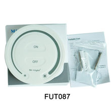 FUT087 2.4G wireless led Touch Dimming Remote Controller Adjust Brightness Dimmer For MiBOXER led lamp light products