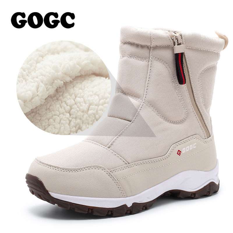 GOGC women boots Women's Winter Boots Shoes woman snow boots Women's Boots Winter Boots for Women Winter Shoes ankle boots G9906(China)