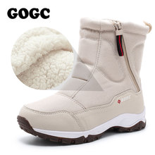 Winter Boots Shoes GOGC Ankle for Women G9906