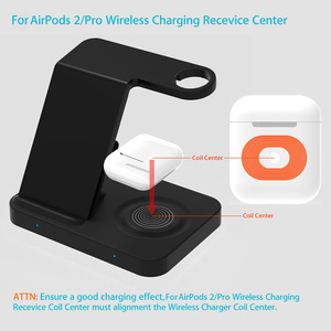 Image 4 - 15W Qi Wireless Charger 5 in 1 Charging Dock Station for Samsung Galaxy Watch Buds Gear For Apple iWatch iPhone 11 X Airpods Pro