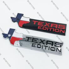 1pcs 3D ABS EDITION car stickers off-road refit side door emblem styling for TEXAS edition flag  JEEP Modifition