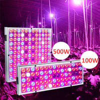 Grow Tent Lamp 500W 100W LED Grow Light Full Spectrum Lamp For Plants Fitolampy Phyto Lamp Red Blue White IR UV Led Growth Lamp