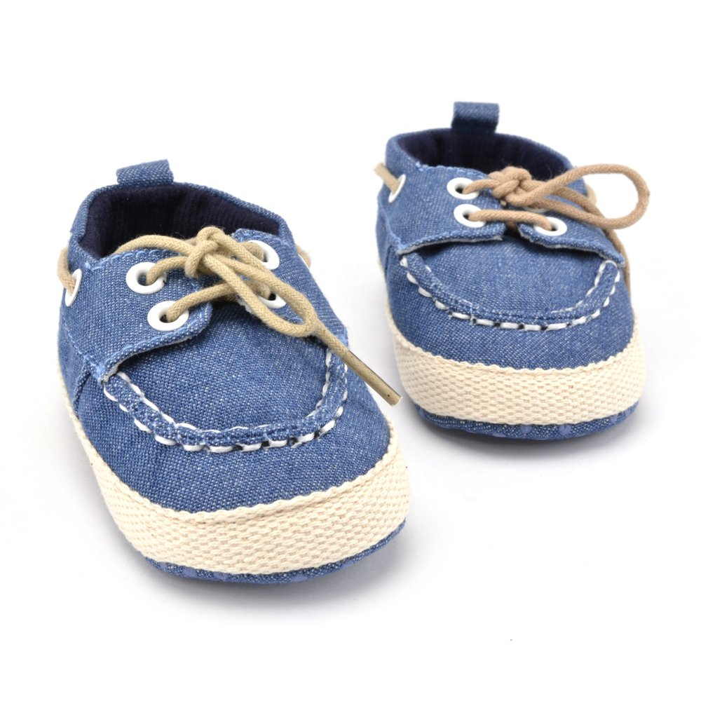 New Baby Shoes Newborn Girl Boy Denim Soft Sole Toddler Infant Shoes Prewalker Sneaker Shoes Baby First Wlaker