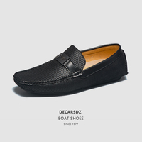 DECARSDZ Loafers Shoes Men 2021 Spring & Autumn Boat Shoes Comfy lace-up Driving Shoes Moccasins Comfy Slin-on Men Casual Shoes 1