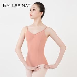 Image 4 - Ballet justaucorps dos nu femmes Ballet fille adulte gymnastique justaucorps danse vêtements ballerine 5549